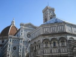 florentine cathedral under blue sky