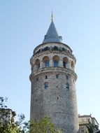 tower of the old town in istanbul