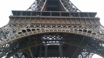 steel construction of Eiffel Tower