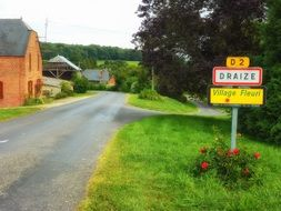 Draize village in France