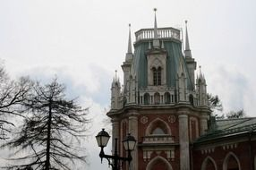 Gothic palace in Russia