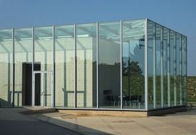 glass facade building