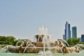 Picture of buckingham fountain