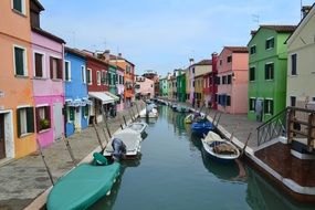 Burano as an island quarter in Venice