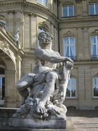 statue of hercules in stuttgart