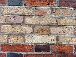 Dirty bricks wall