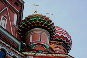 detailes of Russian orthodox cathedral