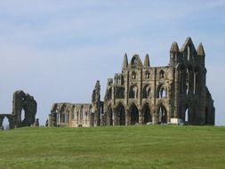whitby abbey old ruins yorkshire