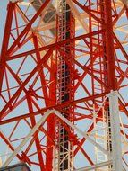 red radio tower