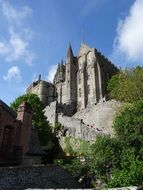 mont saint michel france medieval architecture