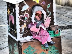 street puppet theater