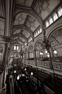jewish synagogue interior