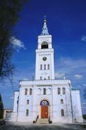 white orthodox cathedral in Russia
