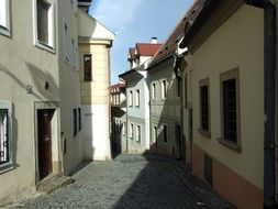 Street of the old town of Bratislava