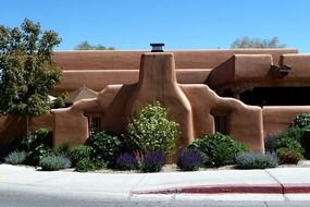 santa fe new mexico usa building