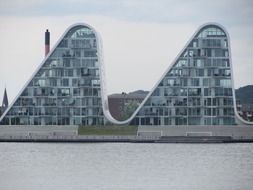 modern apartment buildings in denmark