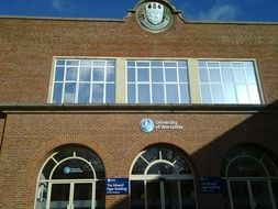 worcester university building facade