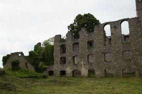 Ruins of a medieval fortress