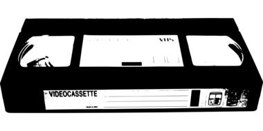 video cassette tape drawing