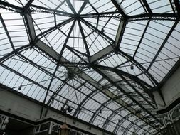 ceiling glass roof structures