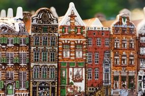 The picturesque architecture of Amsterdam