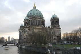 antique cathedral in Berlin