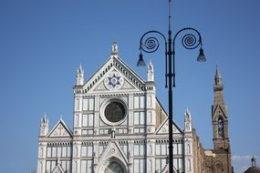 Gothic cathedral in Florence