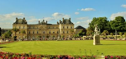 Luxembourg Gardens - palace and park ensemble in the heart of Paris