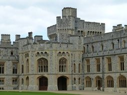 Architecture of Windsor Castle in London