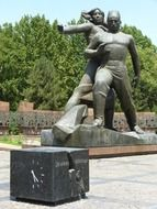 Monument to the victims of the earthquake in Tashkent