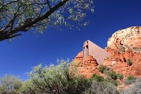 cliff church in arizona