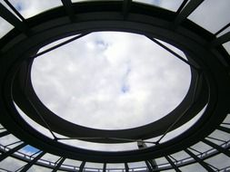 glass dome in Berlin Germany