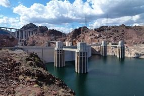hoover dam is a tourist attraction in nevada
