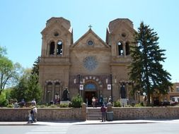 cathedral of basilica in New Mexico