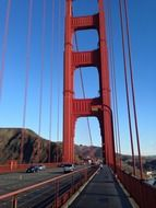 the Golden Gate Bridge in San - Francisco