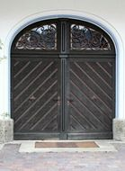 middle ages double door