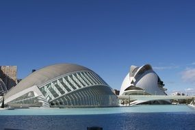 City of Arts and Sciences buildings, spain, valencia