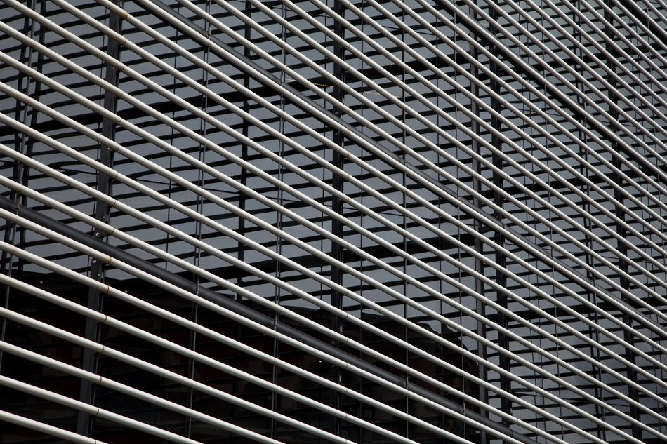 abstract architecture background black and white