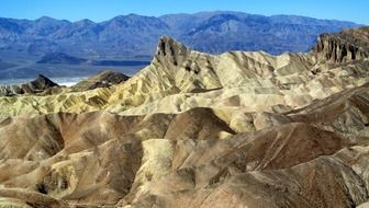 California Death Valley Panorama