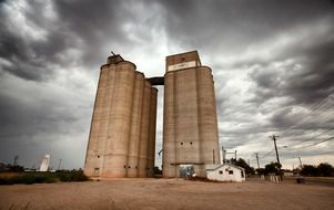 grain elevator in tucumcari in new mexico