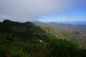 mountains viewpoint on Canary Islands