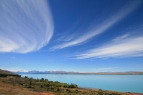 mount cook new zealand lake