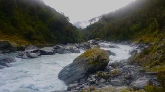 rocky river in new zealand