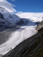 pasterze is the largest glacier in Austria