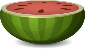 watermelon melon fruit sliced N2