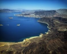 picturesque panorama of Lake Mead In Nevada