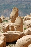 nemrut mountain in turkey