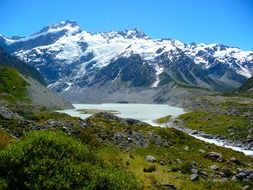 mount cook mountain new zealand