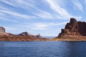 natural lake powell