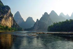 River LI in China